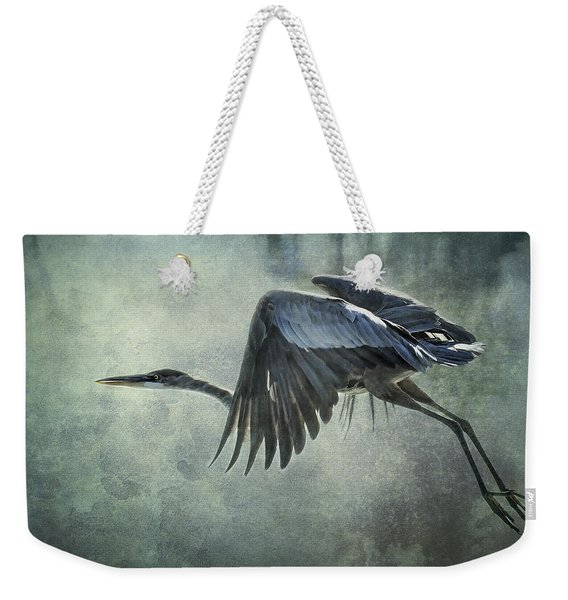 The Great Blue Heron  Weekender Tote Bag