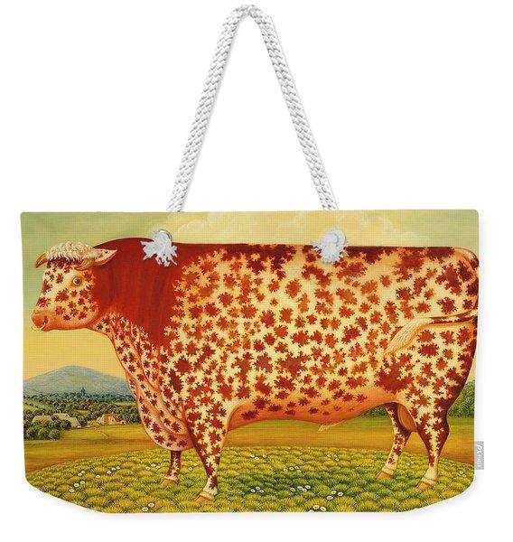 The Great Bull Weekender Tote Bag