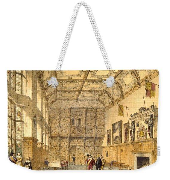 The Great Hall, Hatfield, Berkshire Weekender Tote Bag