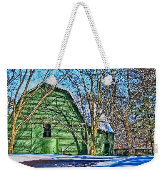 The Green Barn Weekender Tote Bag