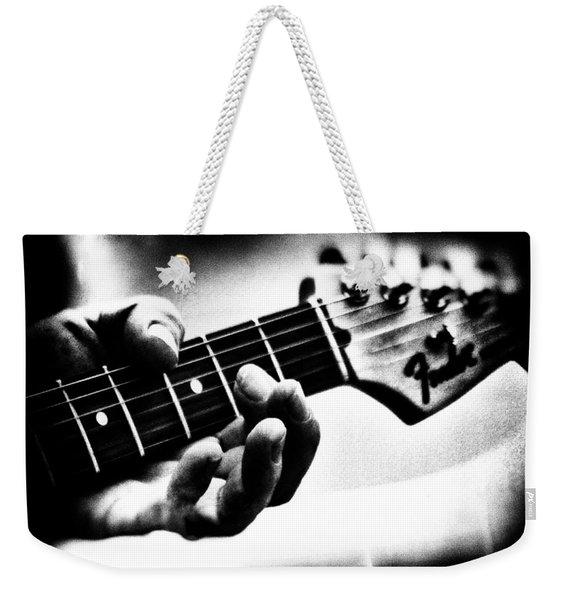 The Guitar Weekender Tote Bag