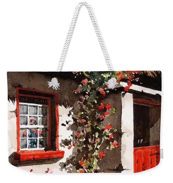 The Half Door Weekender Tote Bag