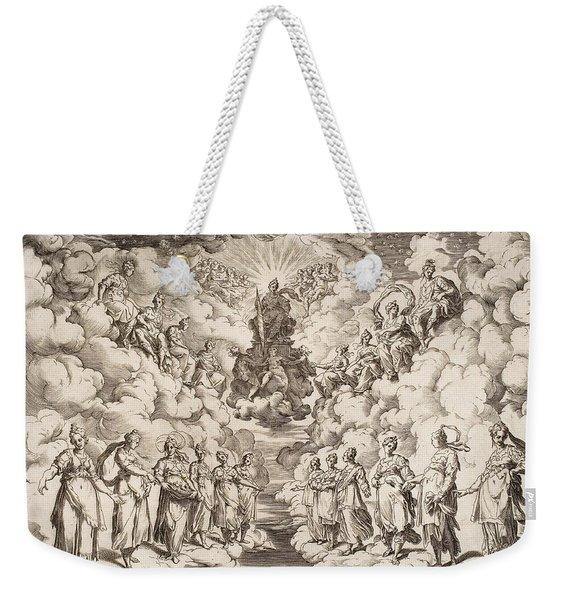 The Harmony Of The Spheres Weekender Tote Bag