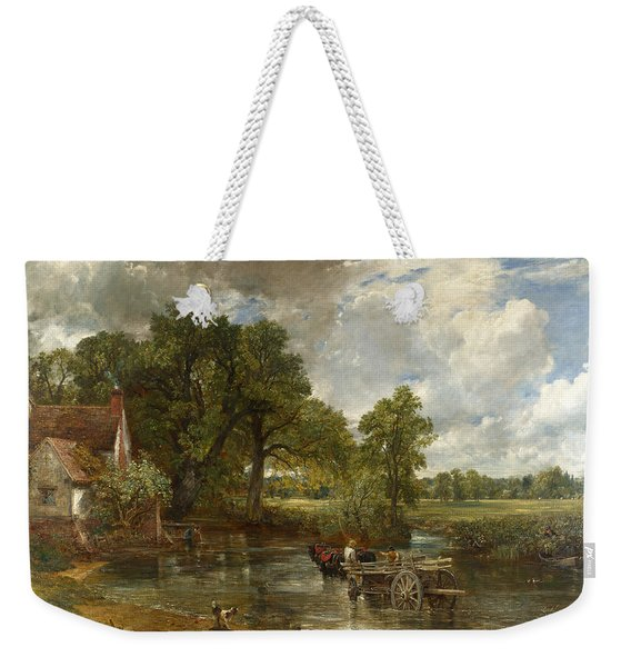 The Hay Wain Weekender Tote Bag