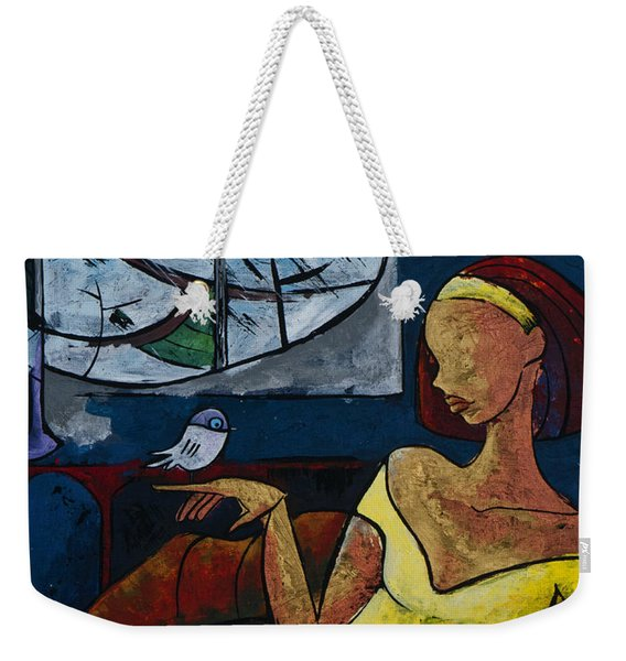 The Healing Process - From The Eternal Whys Series  Weekender Tote Bag