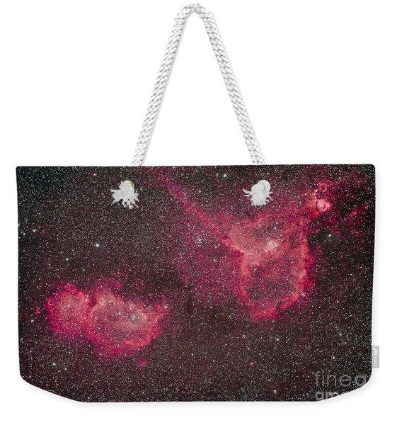 The Heart And Soul Nebula Weekender Tote Bag