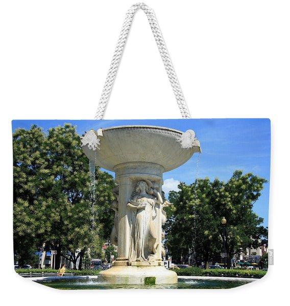 The Heart Of Dupont Circle Weekender Tote Bag