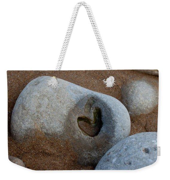 The Heart Of Omaha Beach Weekender Tote Bag