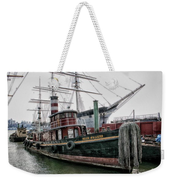 The Helen Mcallister Weekender Tote Bag