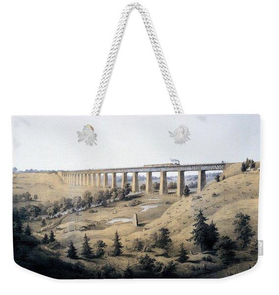 The High Bridge Near Farmville, Prince Weekender Tote Bag