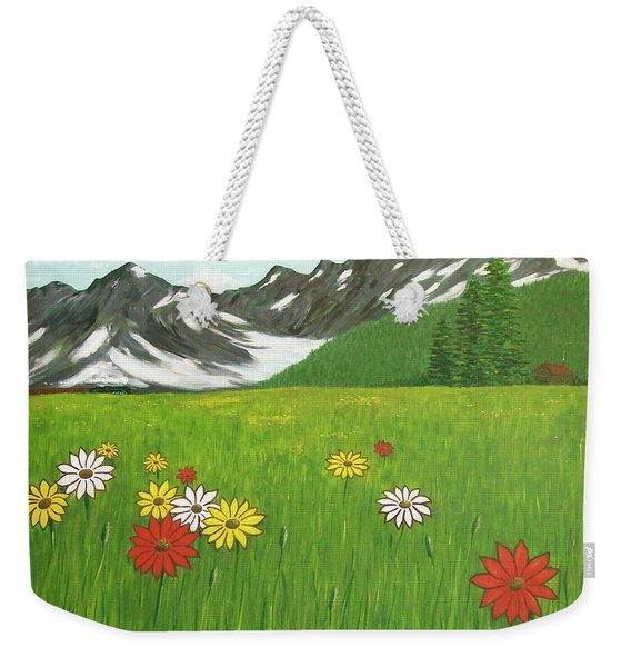 The Hills Are Alive With The Sound Of Music Weekender Tote Bag
