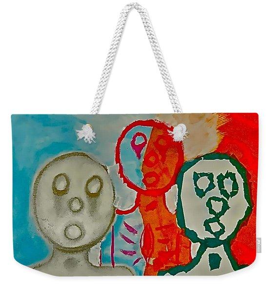 The Hollow Men 88 - Study Of Three Weekender Tote Bag