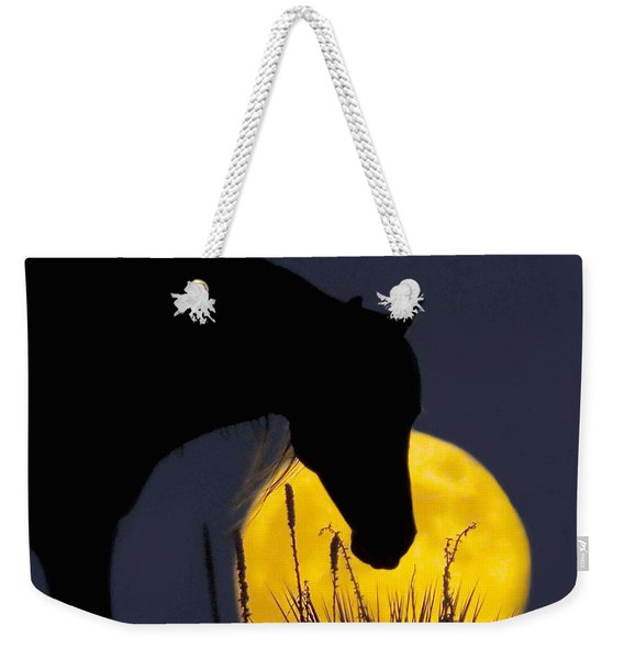 The Horse In The Moon Weekender Tote Bag