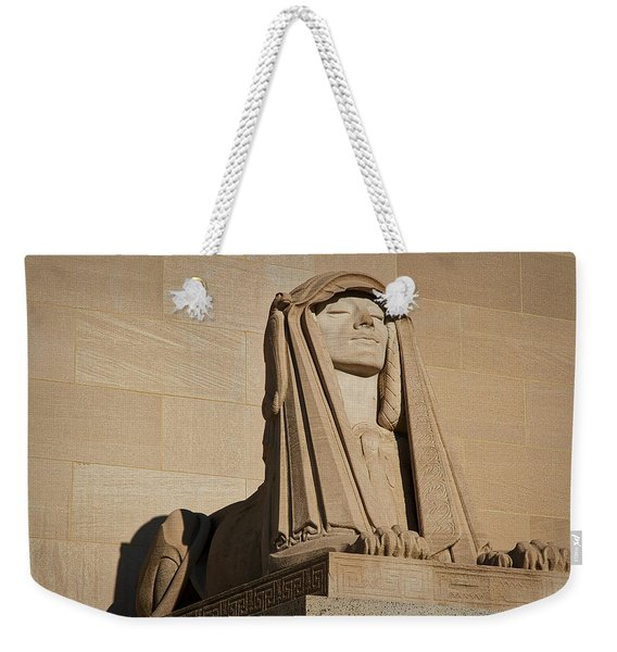 The House Of The Temple Sphinx #2 Weekender Tote Bag