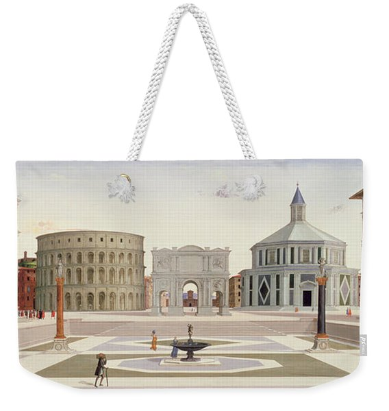 The Ideal City Weekender Tote Bag