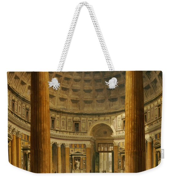 The Interior Of The Pantheon Weekender Tote Bag