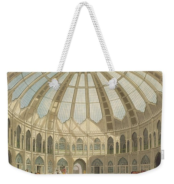 The Interior Of The Stables Weekender Tote Bag