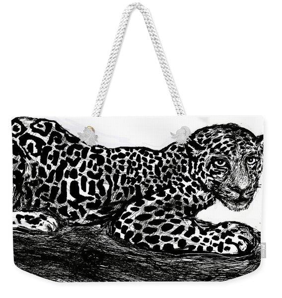 The Jaguar  Weekender Tote Bag