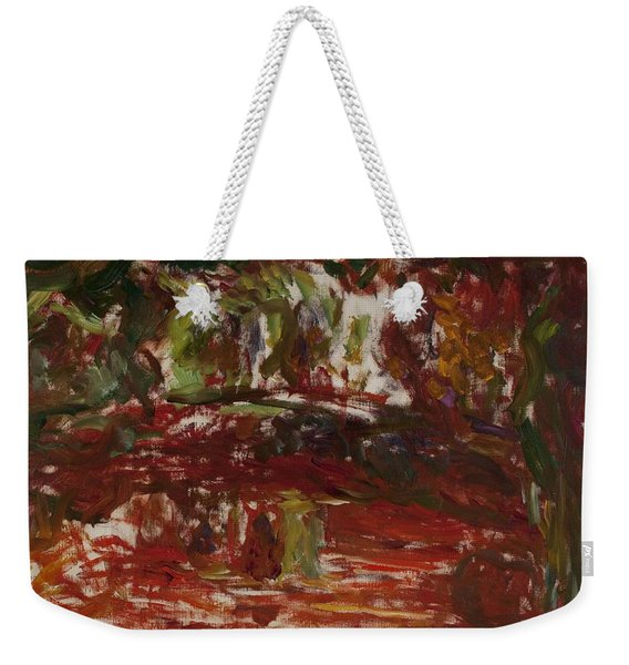 The Japanese Bridge At Giverny, Detail Weekender Tote Bag