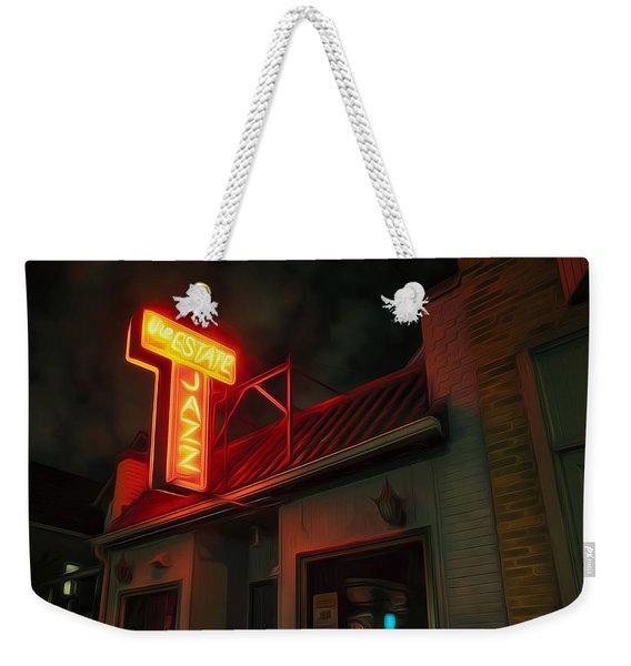 The Jazz Estate Weekender Tote Bag