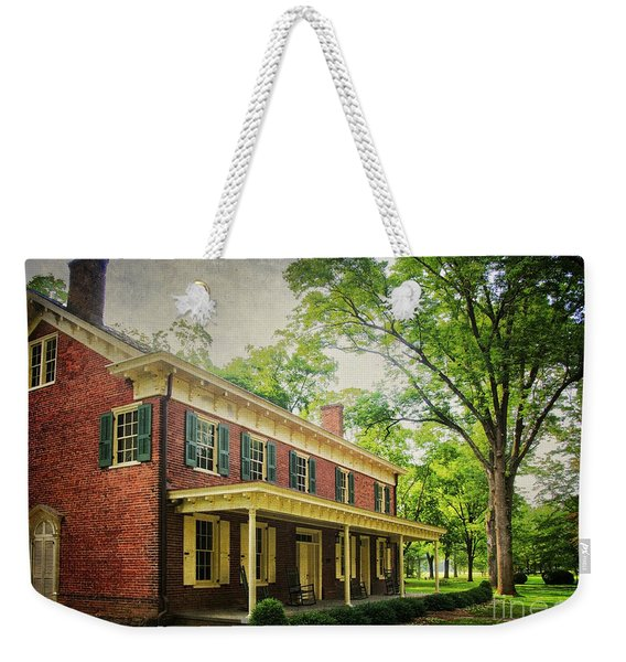 The John Stover House Weekender Tote Bag