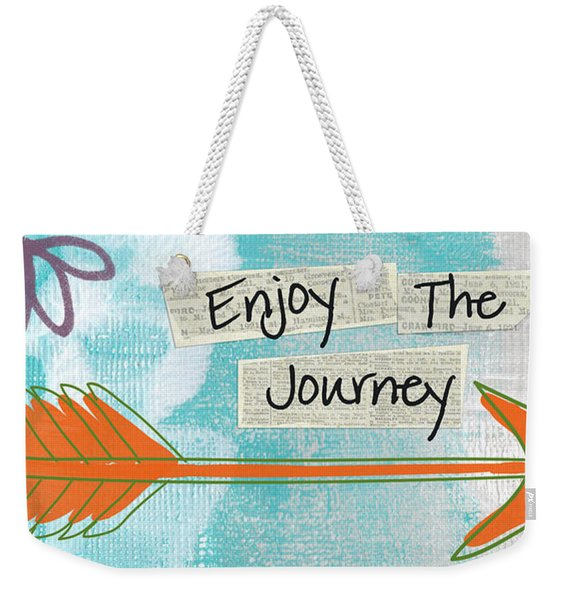 The Journey Weekender Tote Bag