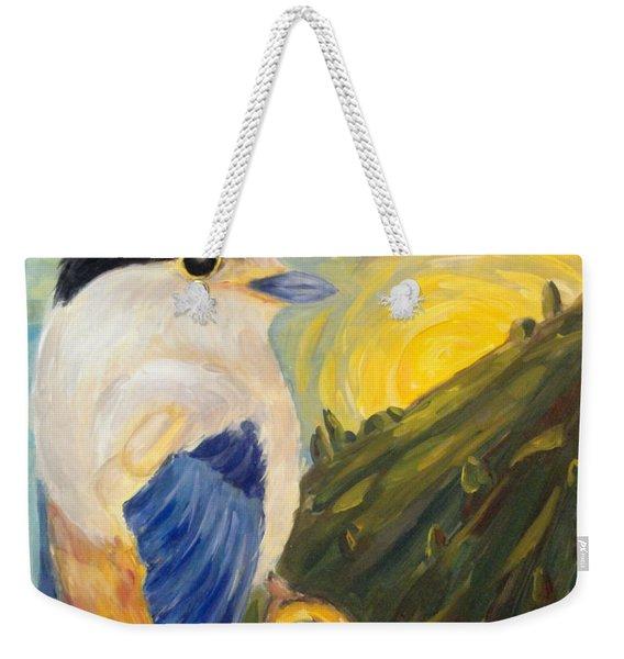 The Key Weekender Tote Bag