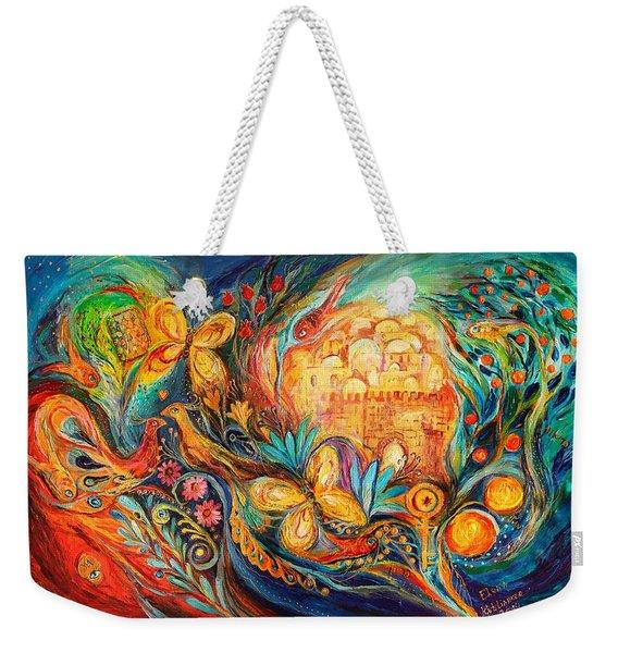 The Key Of Jerusalem Weekender Tote Bag