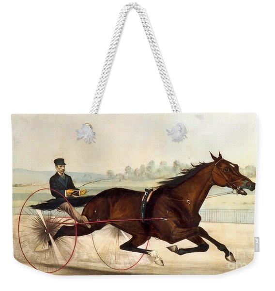 The King Of The Turf Weekender Tote Bag