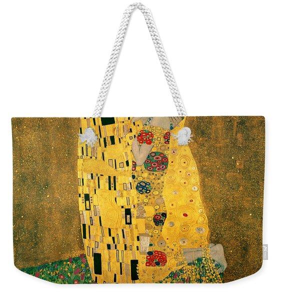 The Kiss Weekender Tote Bag