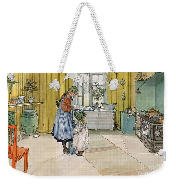The Kitchen From A Home Series Weekender Tote Bag