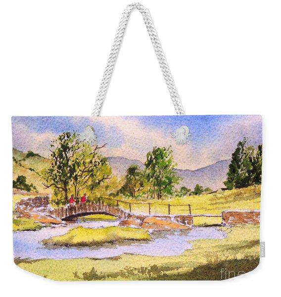 The Lake District - Slater Bridge Weekender Tote Bag