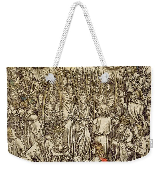 The Lamb Of God Appears On Mount Sion, 1498  Weekender Tote Bag