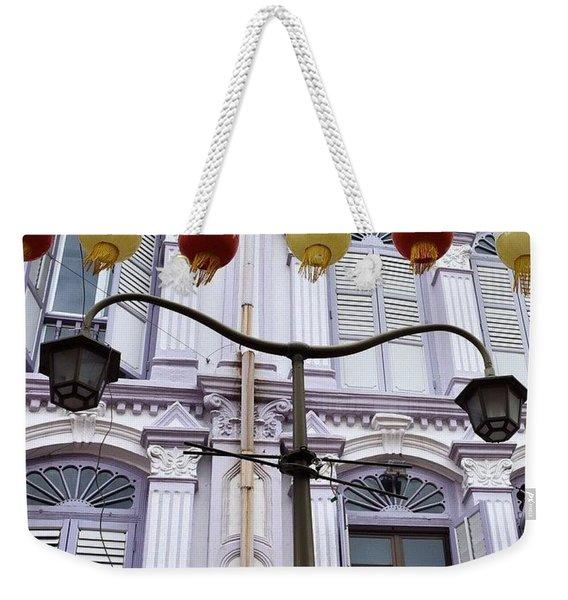 The Lamp, Singapore Weekender Tote Bag