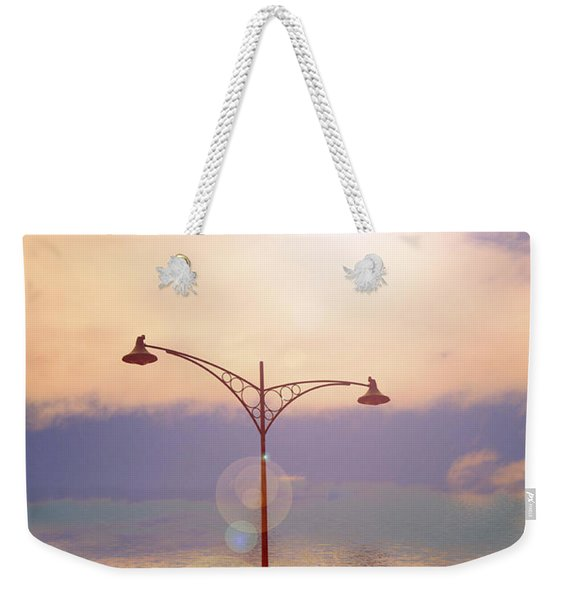 The Lampost Weekender Tote Bag