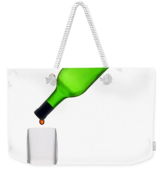 The Last Drop Weekender Tote Bag
