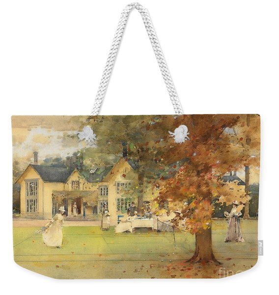 The Lawn Tennis Party Weekender Tote Bag