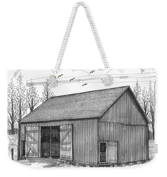 The Lawrence Barn Weekender Tote Bag