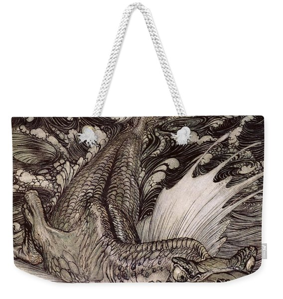 The Leviathan Weekender Tote Bag