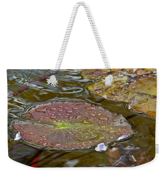 The Lily Pad Weekender Tote Bag