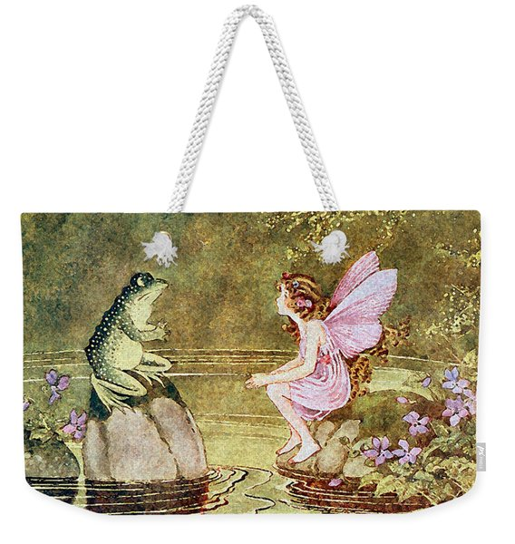 The Little Green Road To Fairyland  Weekender Tote Bag