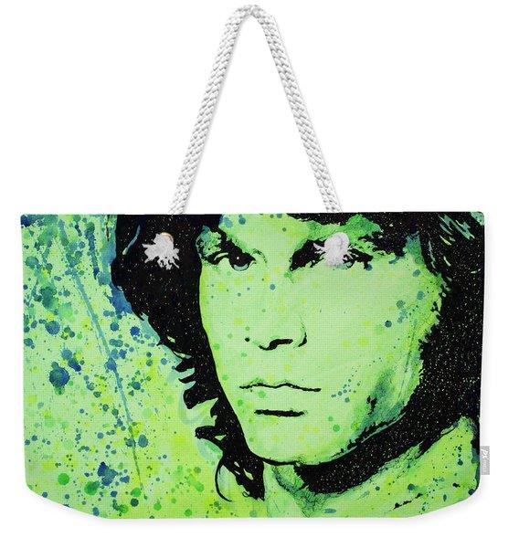 The Lizard King Weekender Tote Bag