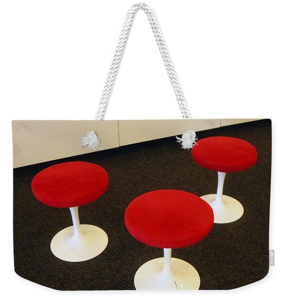 The Lobby Weekender Tote Bag