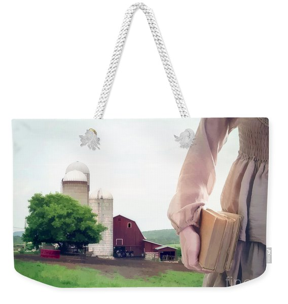 The Long Walk To School Weekender Tote Bag