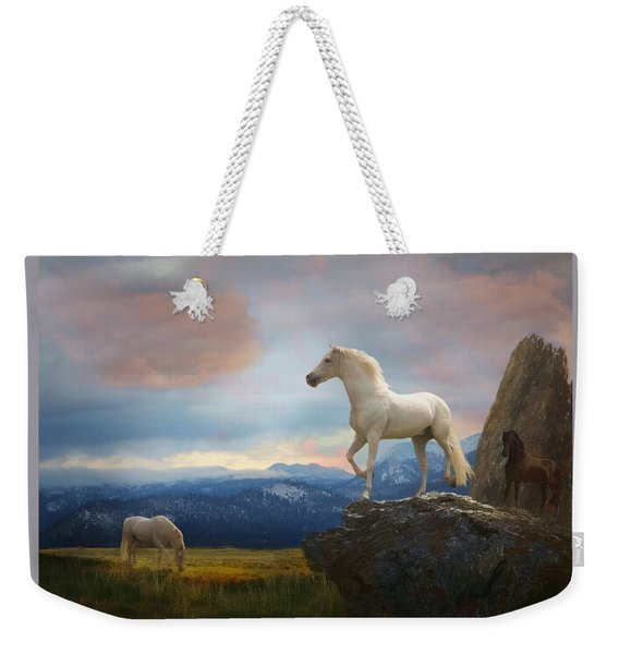 The Look Out Weekender Tote Bag