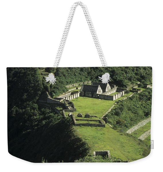 The Lost City Of Choquequirao Weekender Tote Bag