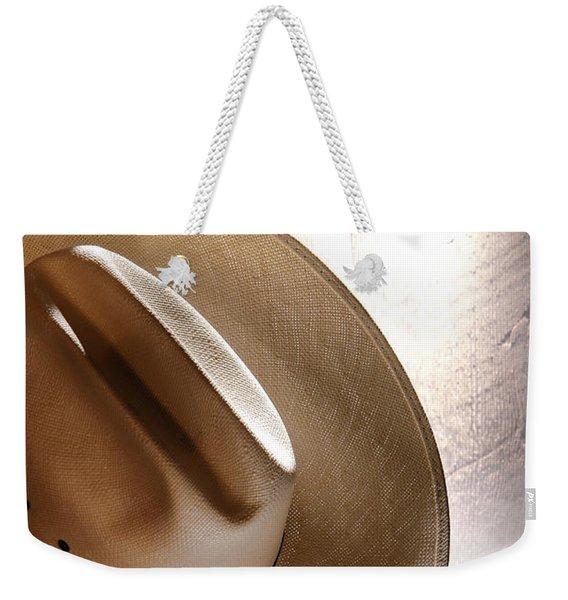 The Lost Hat Weekender Tote Bag