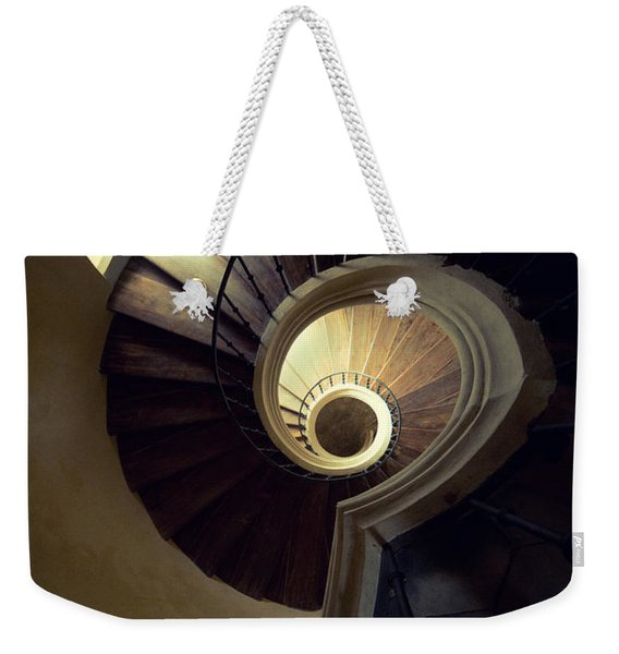 Weekender Tote Bag featuring the photograph The Lost Tower by Jaroslaw Blaminsky