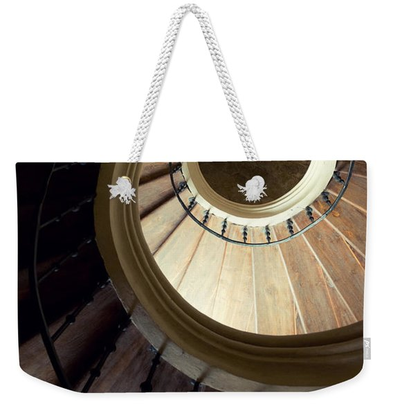 Weekender Tote Bag featuring the photograph The Lost Wooden Tower by Jaroslaw Blaminsky