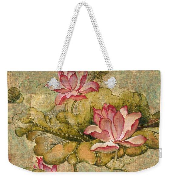 The Lotus Family Weekender Tote Bag